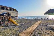 Пляж, пансионат «Бургас», Адлер